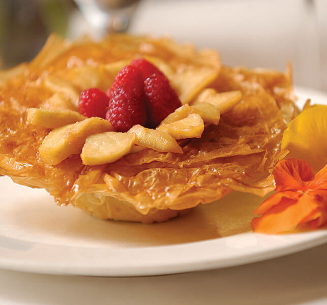 Apple Phyllo Blossoms - Athens Foods