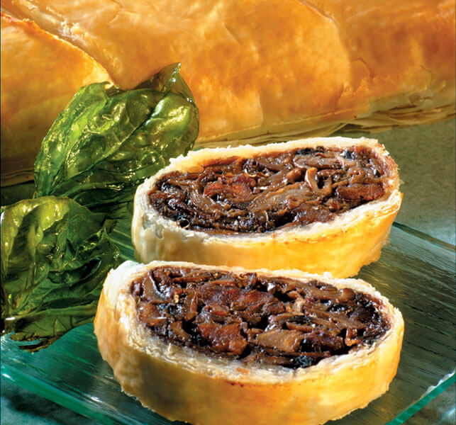Mushroom Phyllo Strudel Appetizers | Athens Foods