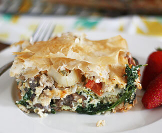 Phyllo Brunch Recipe