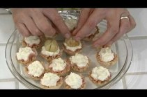 How to Make an Hors d'oeuvre with Mini Fillo Shells
