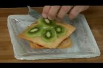 How to Make Strawberry Kiwi Phyllo Napoleons