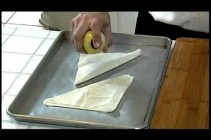 How to Make Strawberry Rhubarb Turnovers with Phyllo
