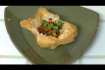 How to recreate Loaded Baked Potatoes with Phyllo