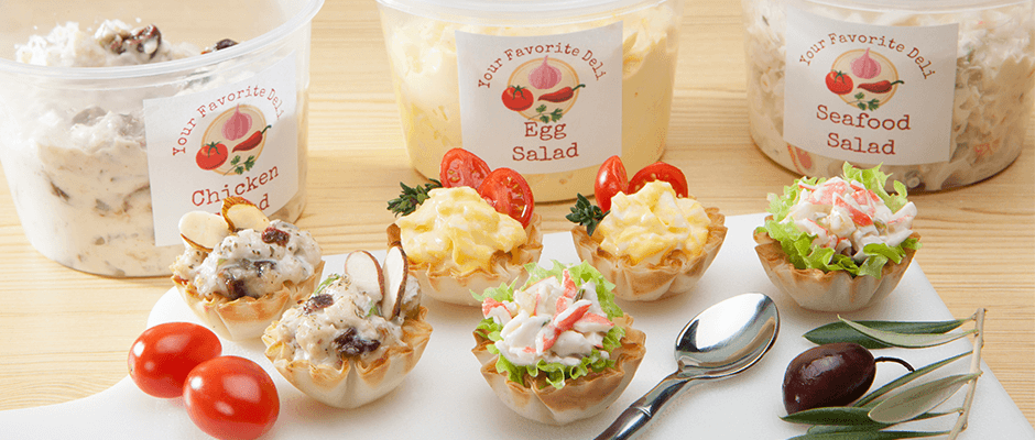 Downsize all of your Deli Favorites