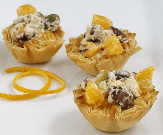Moroccan Fruit & Nut Phyllo Cups