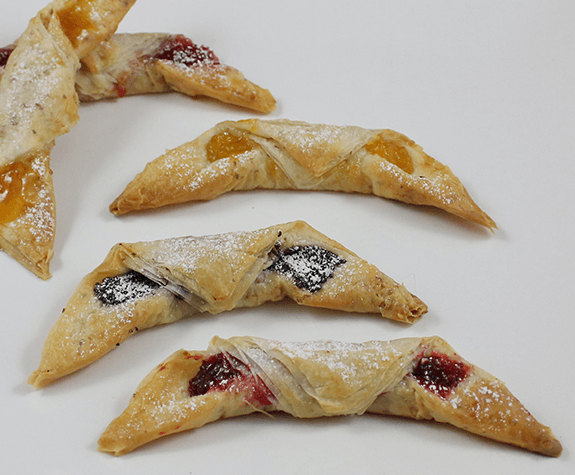 Phyllo Rugelach Pastries