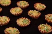 Broccoli and Cheese Phyllo Shells