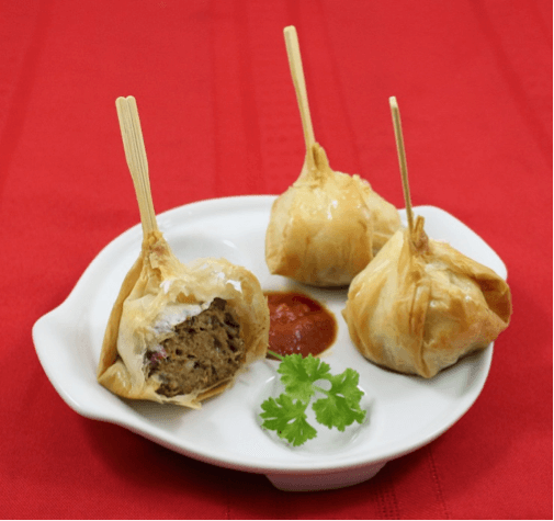 Phyllo meatballs appetizers for parties athens foods for Phyllo dough recipes appetizers indian