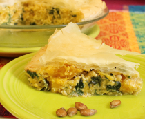Butternut Squash and Ricotta Phyllo Pie