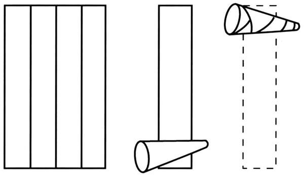 phyllo cones