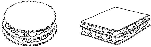 phyllo napoleons