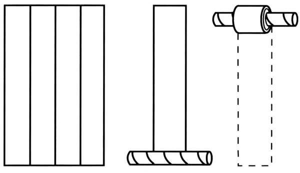 phyllo tubes