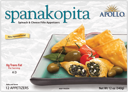Apollo Spanakopita