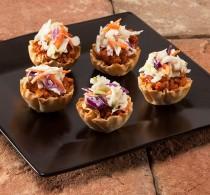 Mini Sloppy Joe Phyllo Cups Simple Appetizers