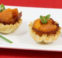 phyllo shell appetizers