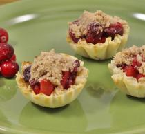 mini pastry shells