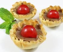 Phyllo Cherry Cordials Recipe