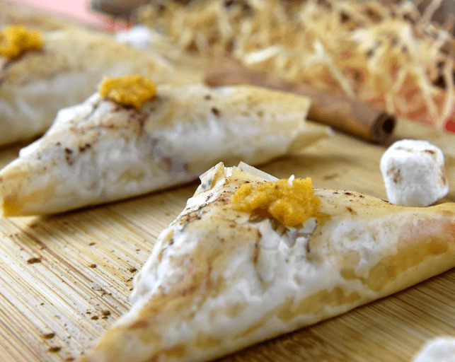 Phyllo Sweet Potato Triangles | Appetizers for ...