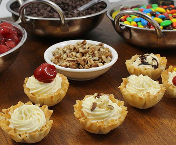 Super Simple Cheesecake Mini Shells