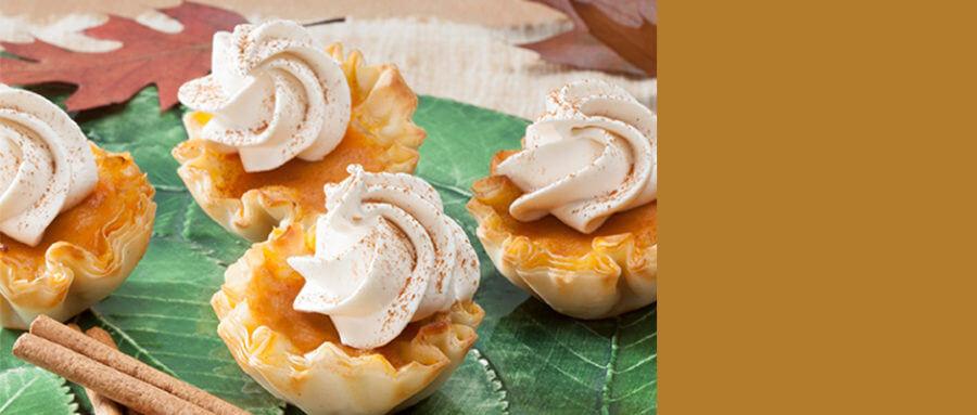 Petite-Sized Pumpkin Pie