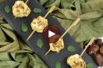 Athens Bacon and Date Phyllo Pinwheels