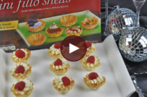 Athens Champagne Phyllo Toast