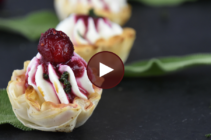 Athens Cranberry Goat Cheese Phyllo