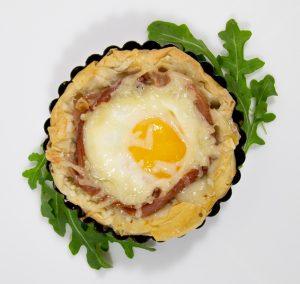 Egg in Phyllo Nest