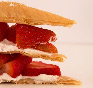 Athens Foods - Phyllo Strawberry Napoleon
