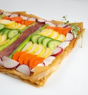 Vegetable Phyllo Tart Athens Foods